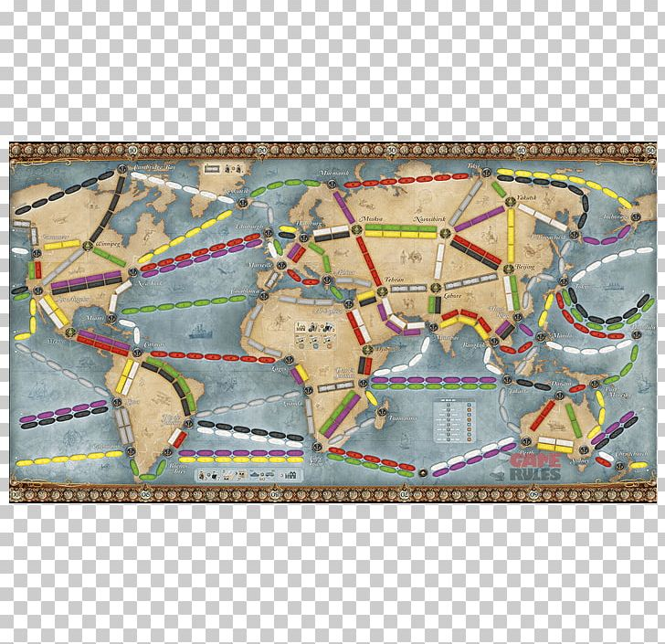Ticket to ride game clipart royalty free download Days Of Wonder Ticket To Ride Series Board Game Set PNG ... royalty free download