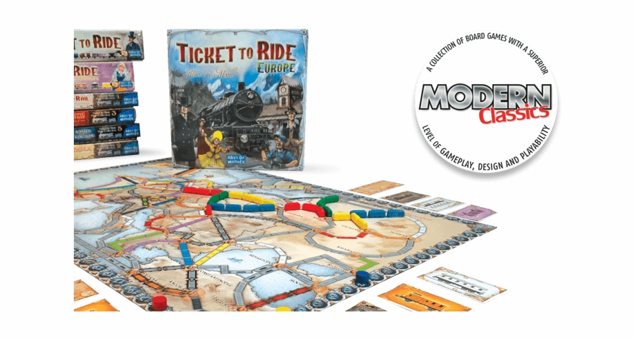 Ticket to ride game clipart picture royalty free download The Overall Goal Remains The Same - Ticket To Ride Europe ... picture royalty free download