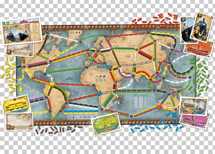 Ticket to ride game clipart picture Days Of Wonder Ticket To Ride Series Board Game Small World ... picture