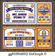 Ticket to win basketball clipart picture transparent stock Raffle Clip Art - Royalty Free - GoGraph picture transparent stock