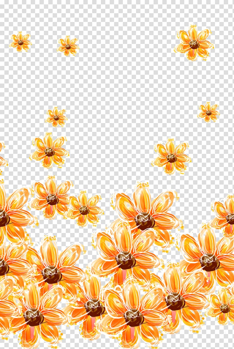 Tickseed clipart picture royalty free download Yellow tickseed flower , Yellow painted flower transparent ... picture royalty free download