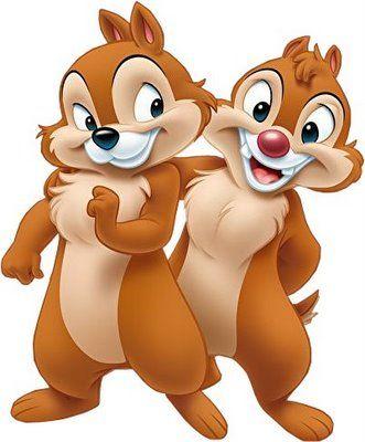 Tico e teco clipart clip black and white Ardillitas Disney | Cartoons | Disney clipart, Disney ... clip black and white