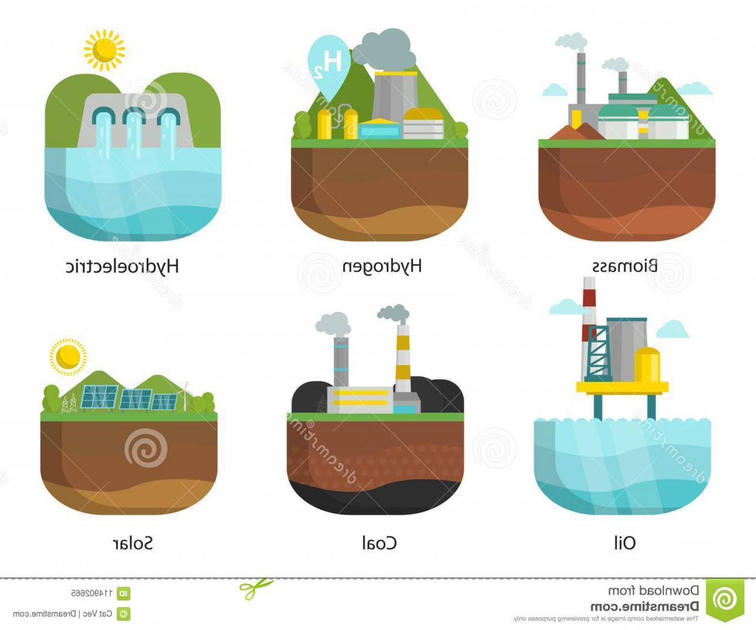 Tidal energy clipart clip art freeuse Generation Energy Types Power Plant Vector Renewable ... clip art freeuse