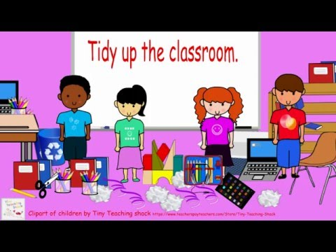 Tidy up clipart clip freeuse library Tidy up the classroom clip freeuse library