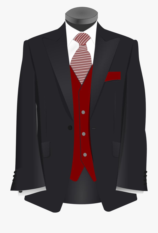 Tie coat clipart png royalty free stock Wedding, Tuxedo Suit Tie Black Maroon Red Wedding G - Clip ... png royalty free stock