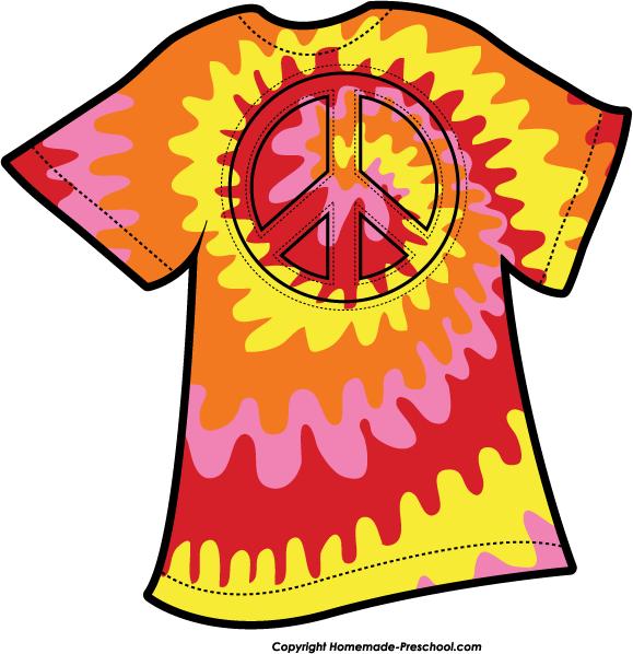 Tie dye clipart free freeuse stock Tie Dye Shirt Clip Art Free free image freeuse stock