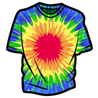 Tie dye clipart vector graphic library stock Create Vector Tie-Dye Using Illustrator\'s Distort Effects graphic library stock