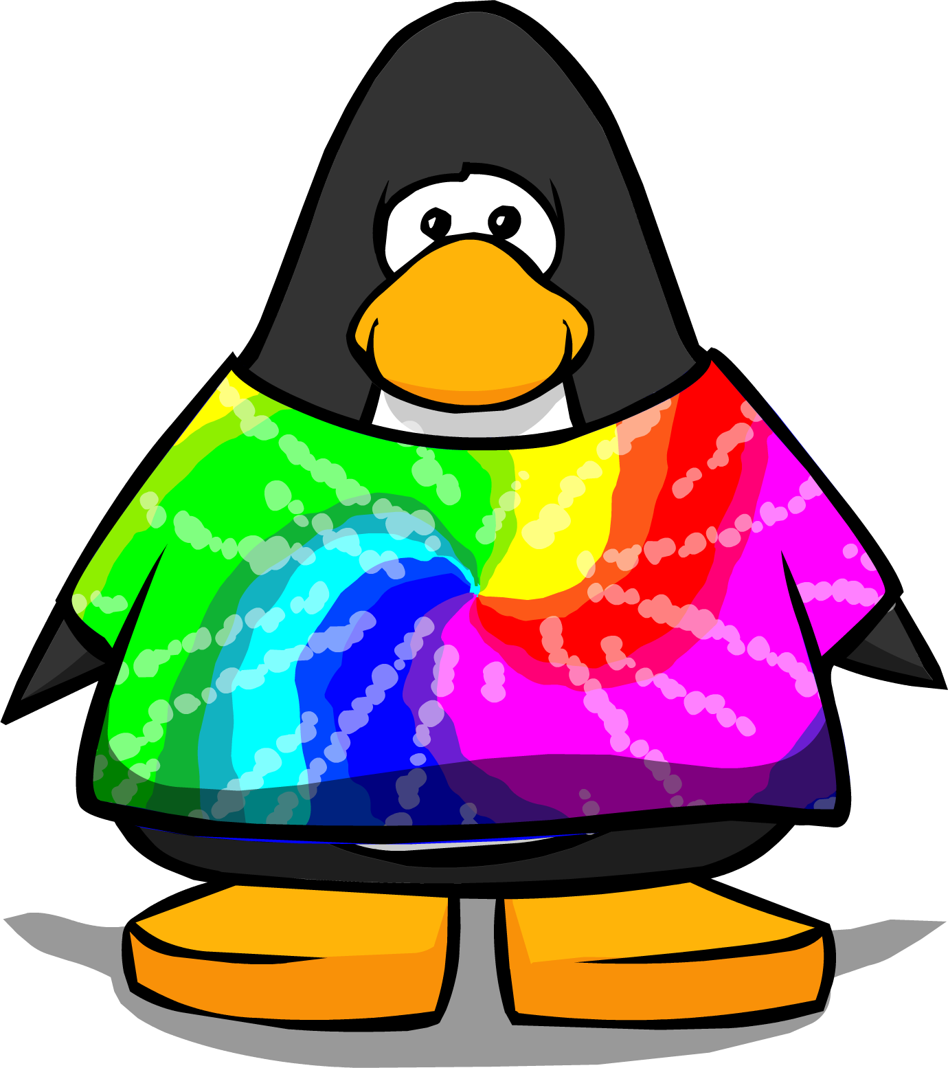 Tie dye heart clipart clip art black and white stock Image - Tie Dye Shirt cutout.PNG | Club Penguin Wiki | FANDOM ... clip art black and white stock