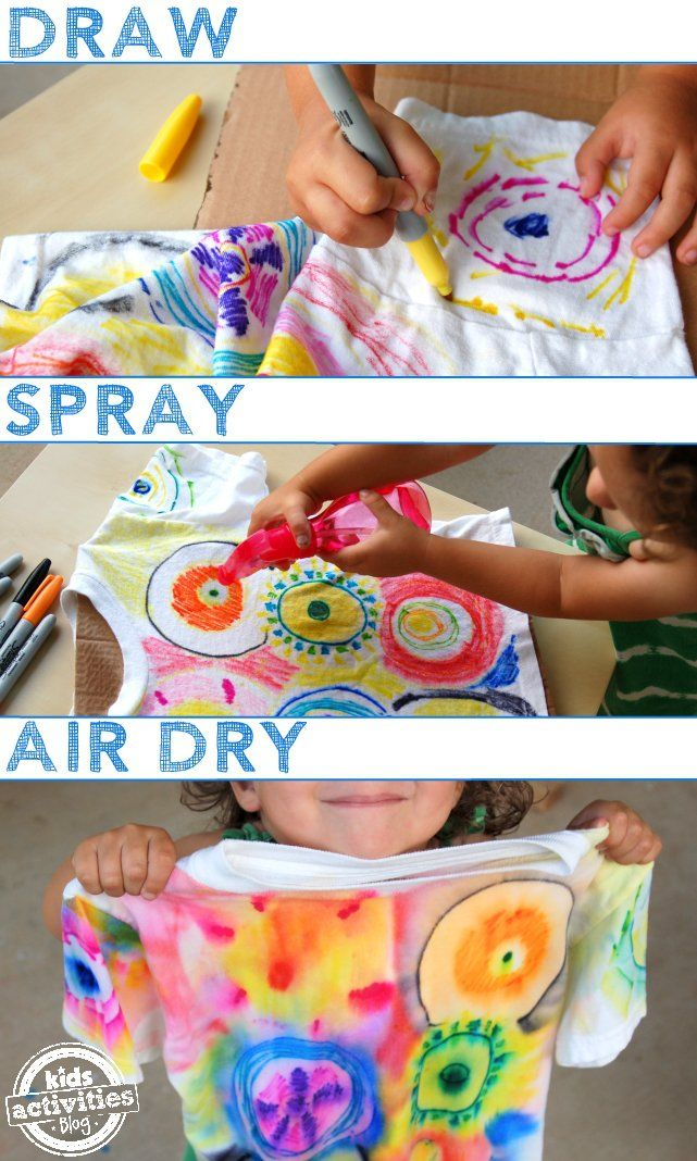Tie dye patterns using sharpie markers clipart banner royalty free library Color Spray-Science Through Art for Kids | DIY projects ... banner royalty free library