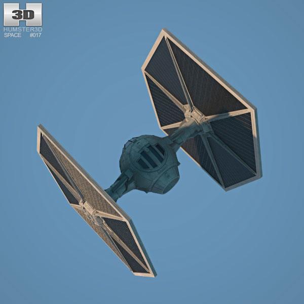 Tie fighter clipart obj svg free stock TIE Fighter 3D model svg free stock