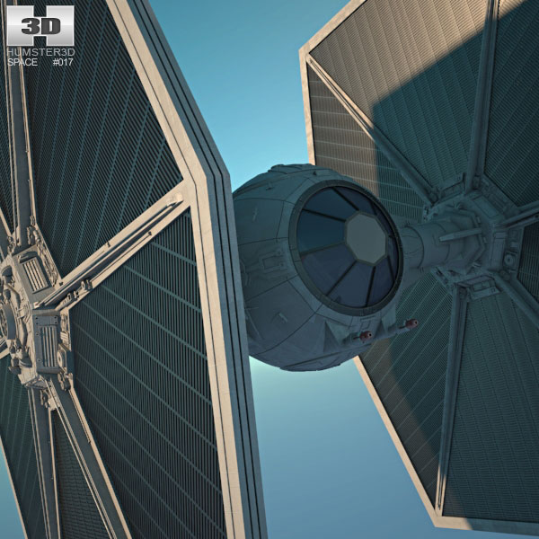 Tie fighter clipart obj clipart free library TIE Fighter 3D model clipart free library