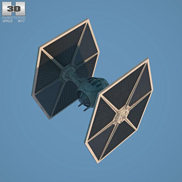 Tie fighter clipart obj jpg download TIE Fighter 3D model jpg download