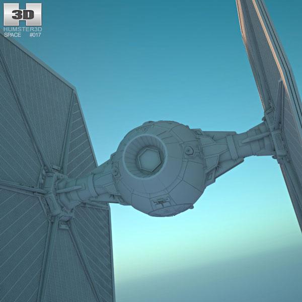 Tie fighter clipart obj clip art transparent library TIE Fighter 3D model clip art transparent library