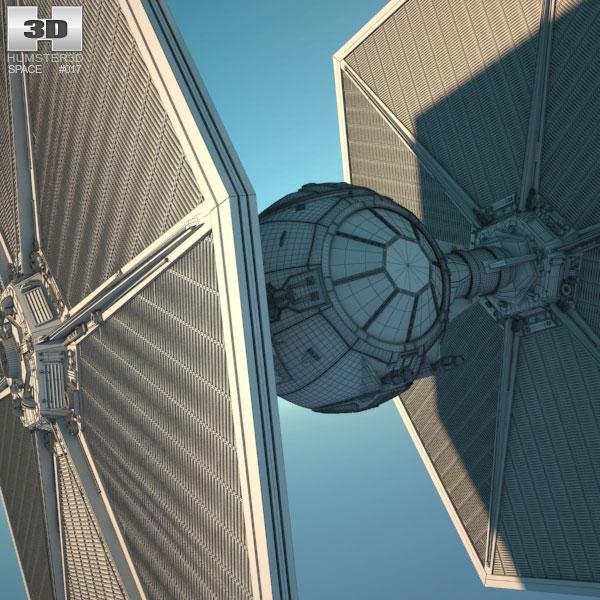 Tie fighter clipart obj graphic transparent library TIE Fighter 3D model graphic transparent library