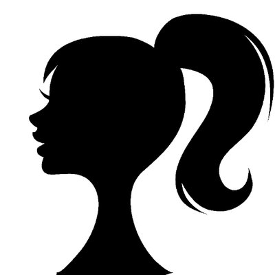 Tie hair up clipart picture stock MissPonytail™ on Twitter: \
