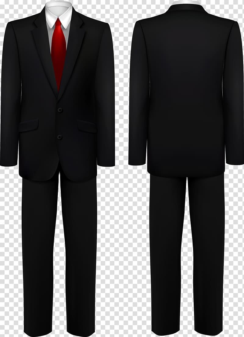 Tie sale tag clipart clip art black and white stock Suit Black tie Tuxedo, men\'s suits transparent background ... clip art black and white stock