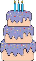 Tiered birthday cake clipart svg freeuse Free Birthday Clipart - Clip Art Pictures - Graphics - Illustrations svg freeuse