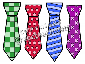 Ties clipart picture free library Clip Art: Ties Color 2 | Clipart Panda - Free Clipart Images picture free library