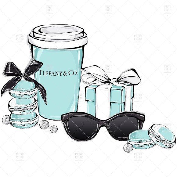 Tiffany logo clipart jpg royalty free library Breakfast At Tiffany Cat Clip Art jpg royalty free library