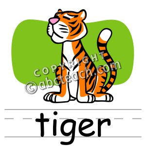 Tiger 1 color clipart clipart black and white stock Tiger 1 color clipart - ClipartFest clipart black and white stock