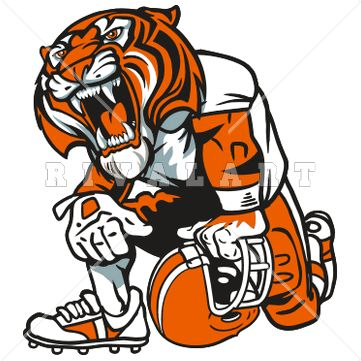 Tiger 1 color clipart freeuse library Top 25 ideas about tiger images on Pinterest | Logos, Football and ... freeuse library