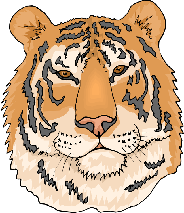 Tiger baseball clipart clip art freeuse library Free Tiger Clipart clip art freeuse library