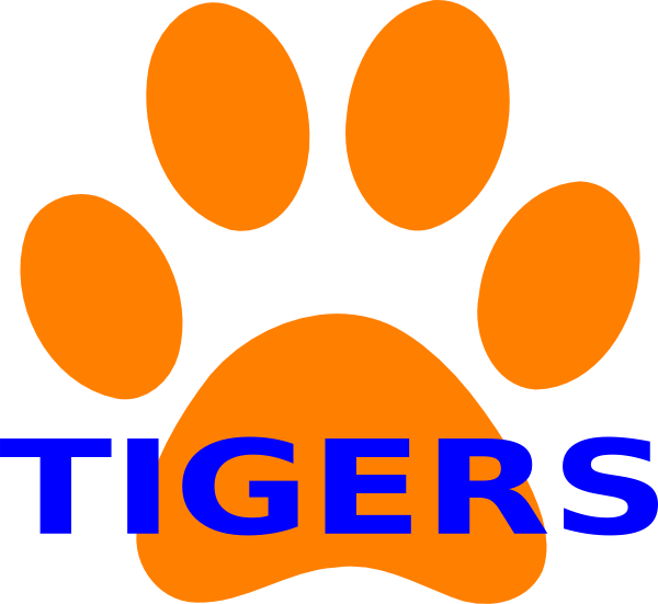 Tiger basketball sayings clipart image freeuse stock Tiger Paw Print Items - ClipArt Best - ClipArt Best | Wood signs ... image freeuse stock