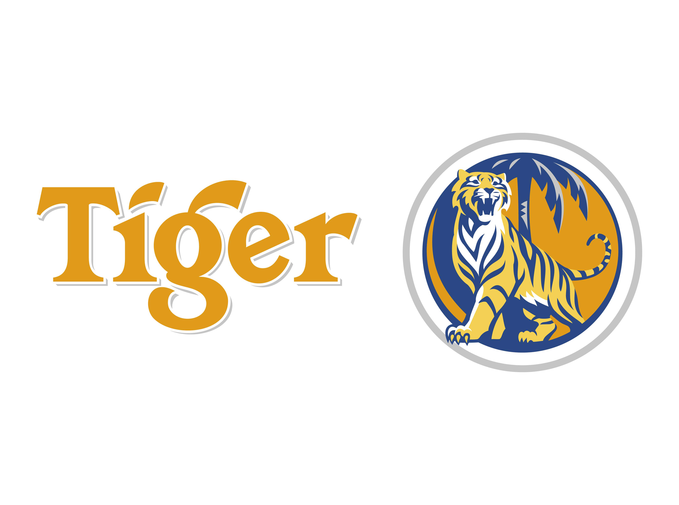 Tiger beer logo clipart graphic free library Tiger beer logo | Logok graphic free library
