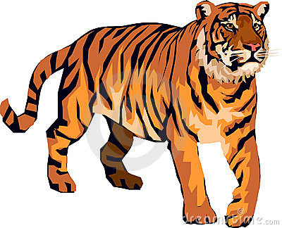 Tiger clipart for kids image transparent stock Cartoon tiger clipart kid - Cliparting.com image transparent stock