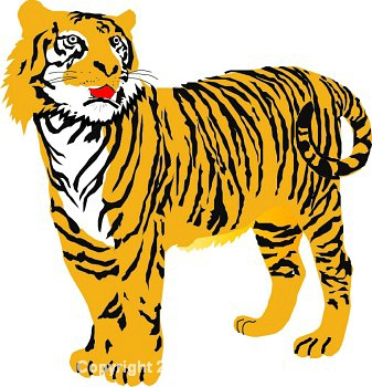 Tiger clipart for kids graphic black and white library Tiger clip art for kids clipart 2 - Cliparting.com graphic black and white library