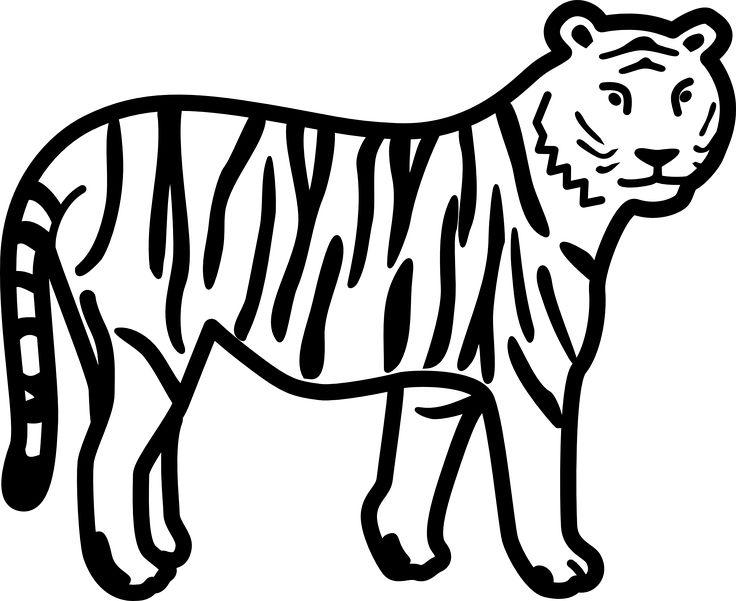 Tiger clipart kostenlos clip transparent 1000+ Ideen zu Ausmalbilder Tiger auf Pinterest | Ausmalbild löwe ... clip transparent