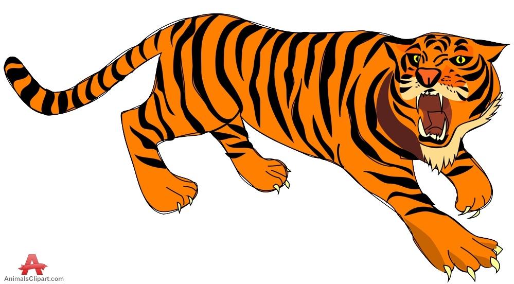 Tiger clipart kostenlos svg black and white download Tiger Clip Art : Soapi.info svg black and white download