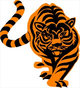 Tiger clipart kostenlos black and white library Tiger Clipart Kostenlos - clipartsgram.com black and white library
