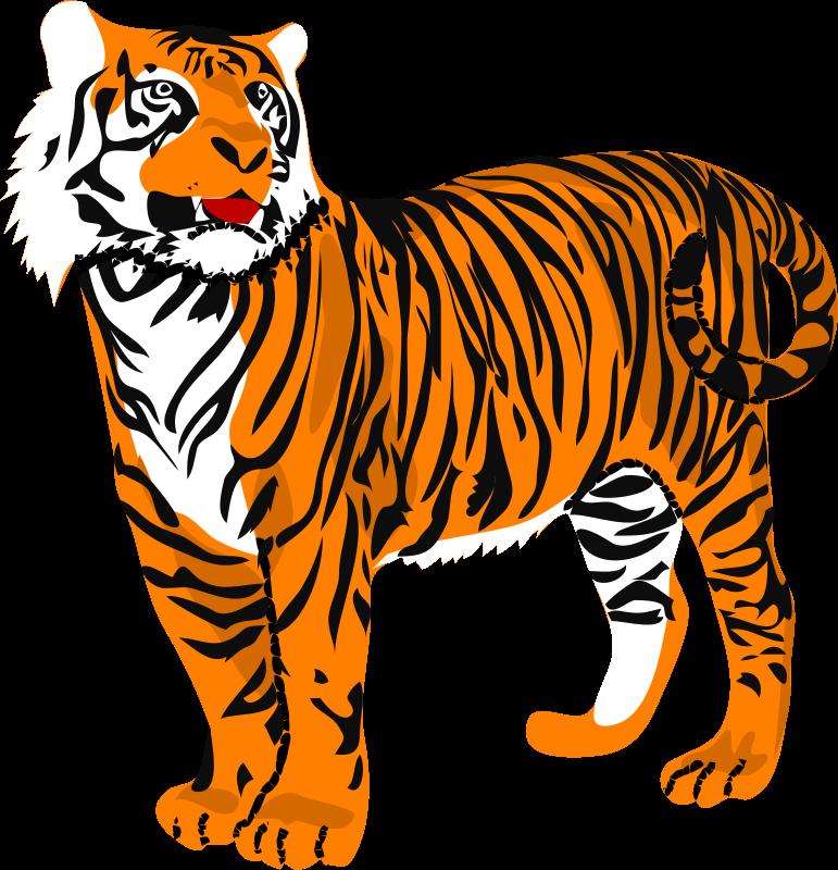 Tiger clipart kostenlos clip art royalty free stock Tiger Clipart Kostenlos - clipartsgram.com clip art royalty free stock