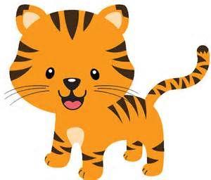 Tiger clipart kostenlos clip transparent library Baby Jungle Animal Clip Art   Ideas de manualidades   Pinterest ... clip transparent library