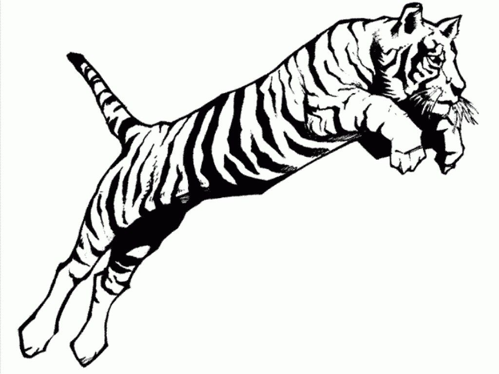 Tiger clipart leaping clip art library Tiger Paw Drawing | Free download best Tiger Paw Drawing on ... clip art library