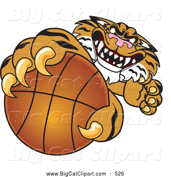 Tiger clipart mean png black and white library tigers basketball Mascot Clip Art | ... Clipart of a Mean ... png black and white library