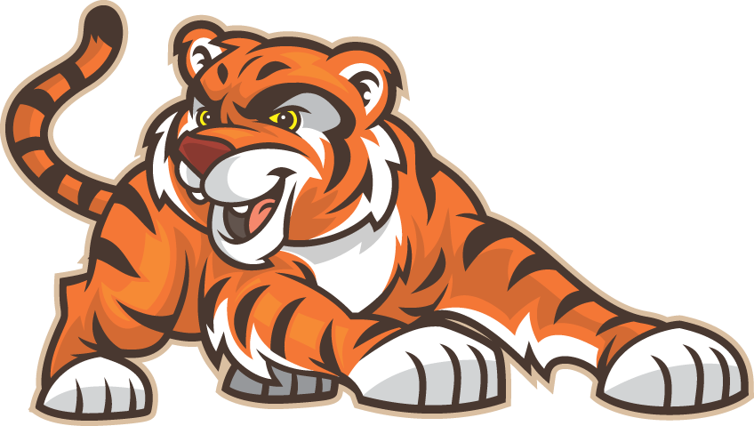 Tiger coming out of basketball clipart jpg transparent SUPPORT THE TIGER CUBS! - Greencastle TIger Cubs - Greencastle High ... jpg transparent
