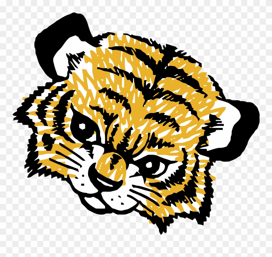 Tiger cub face clipart outline vector black and white stock Baby Tigger Face Clipart Png Picture - Tiger Cub Face ... vector black and white stock