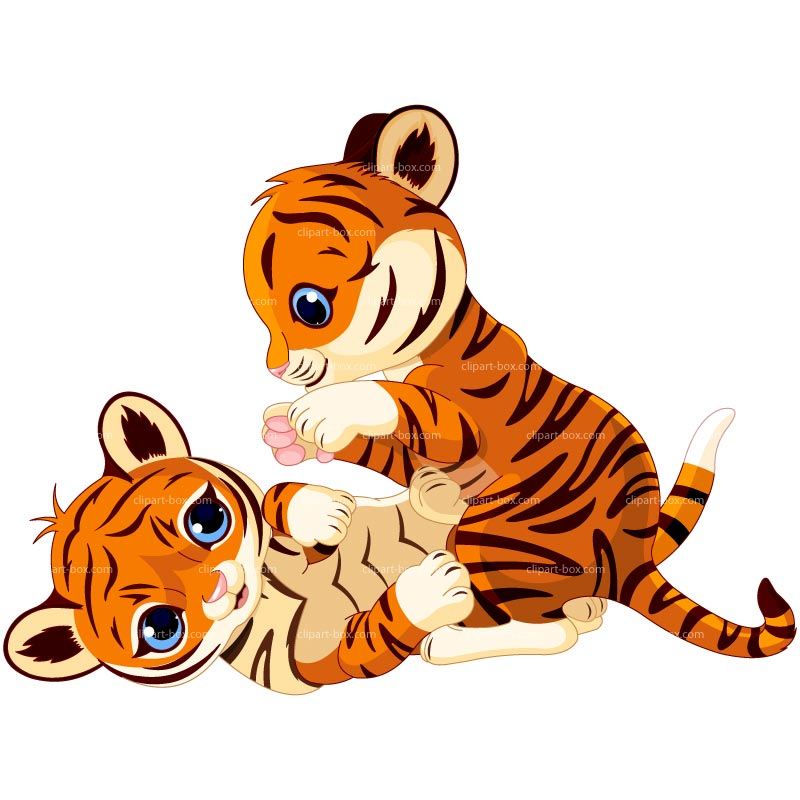 Tiger cub reahing up clipart picture freeuse library Tiger Clipart | Free download best Tiger Clipart on ... picture freeuse library