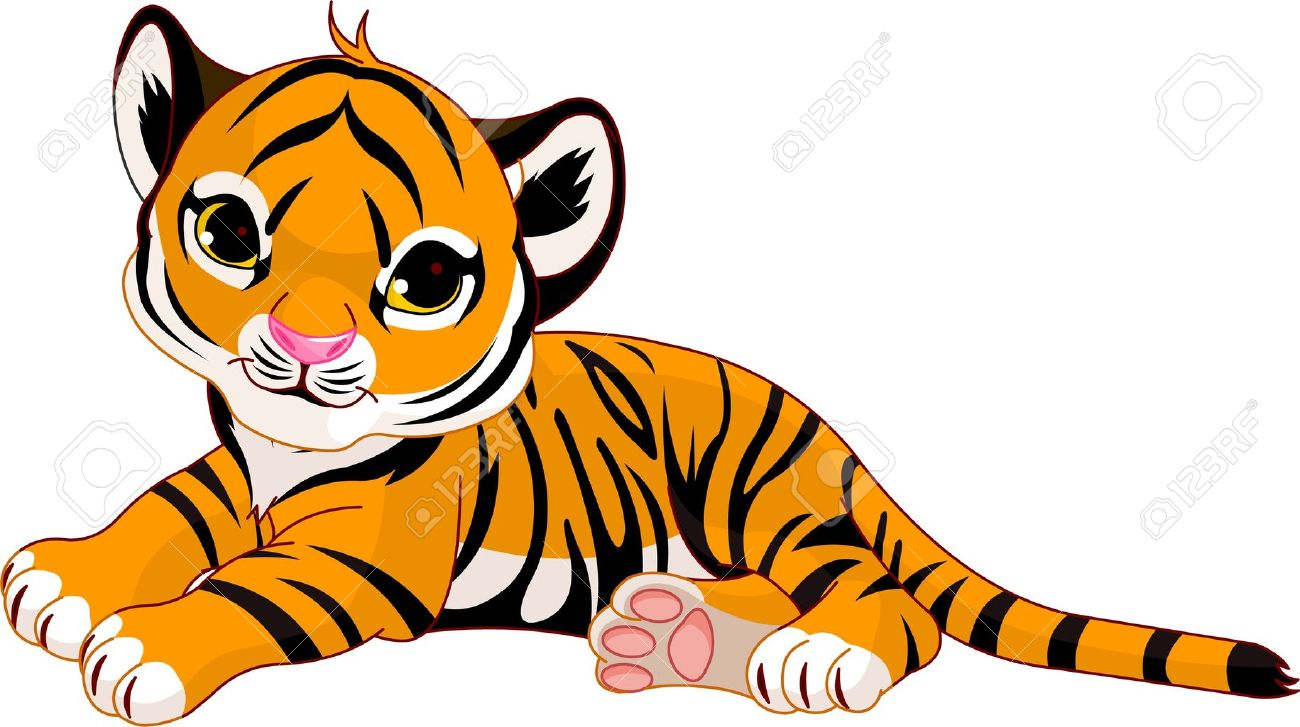 Tiger cub reahing up clipart clipart royalty free download Tiger Clipart | Free download best Tiger Clipart on ... clipart royalty free download