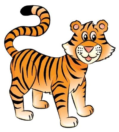 Tiger drawing clipart png black and white stock How to Draw a Tiger in 6 Steps | School Stuff | Tiger ... png black and white stock