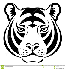 Tiger face clipart black and white clipart royalty free Image result for tiger face clipart black and white | Cricut ... clipart royalty free