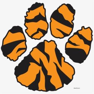 Tiger feet clipart jpg library download Dinosaur Foot Print Sticker - Dinosaur Footprint Vector ... jpg library download
