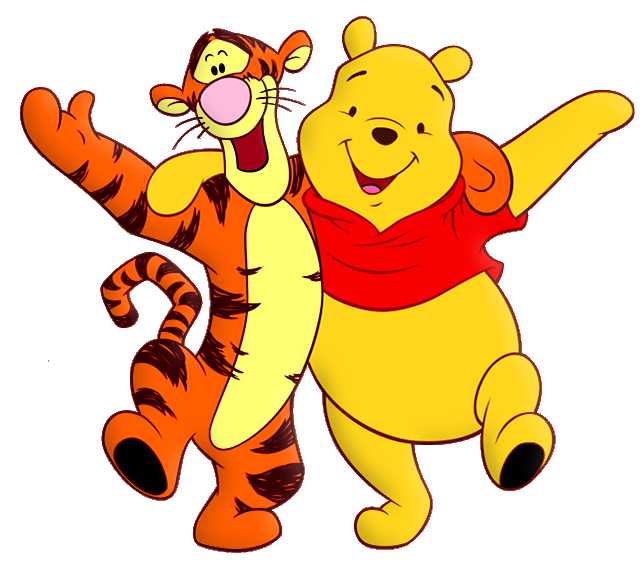 Tiger halloween clipart graphic library download Winnie the Pooh and Tiger Cartoon PNG Free Clipart | Gallery ... graphic library download