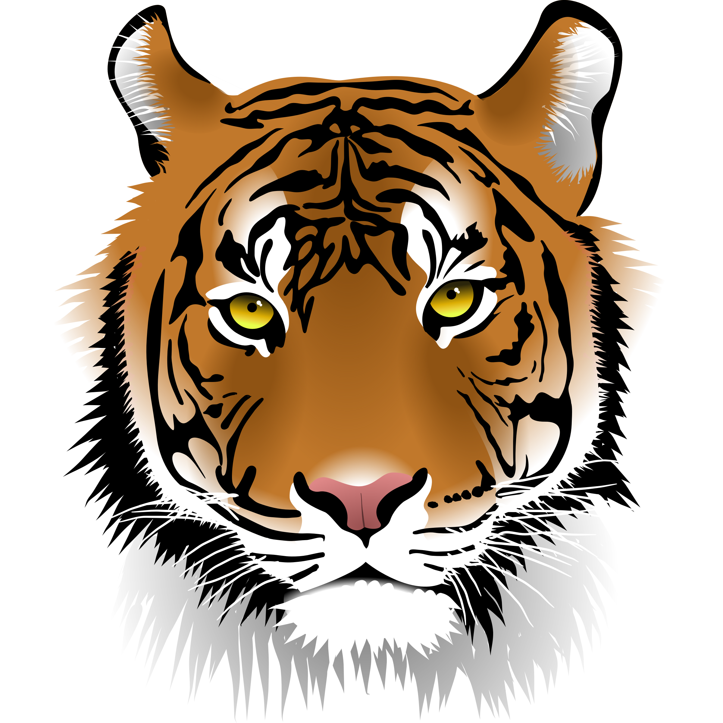 Tiger halloween clipart free library 28+ Collection of Halloween Tiger Clipart | High quality, free ... free library