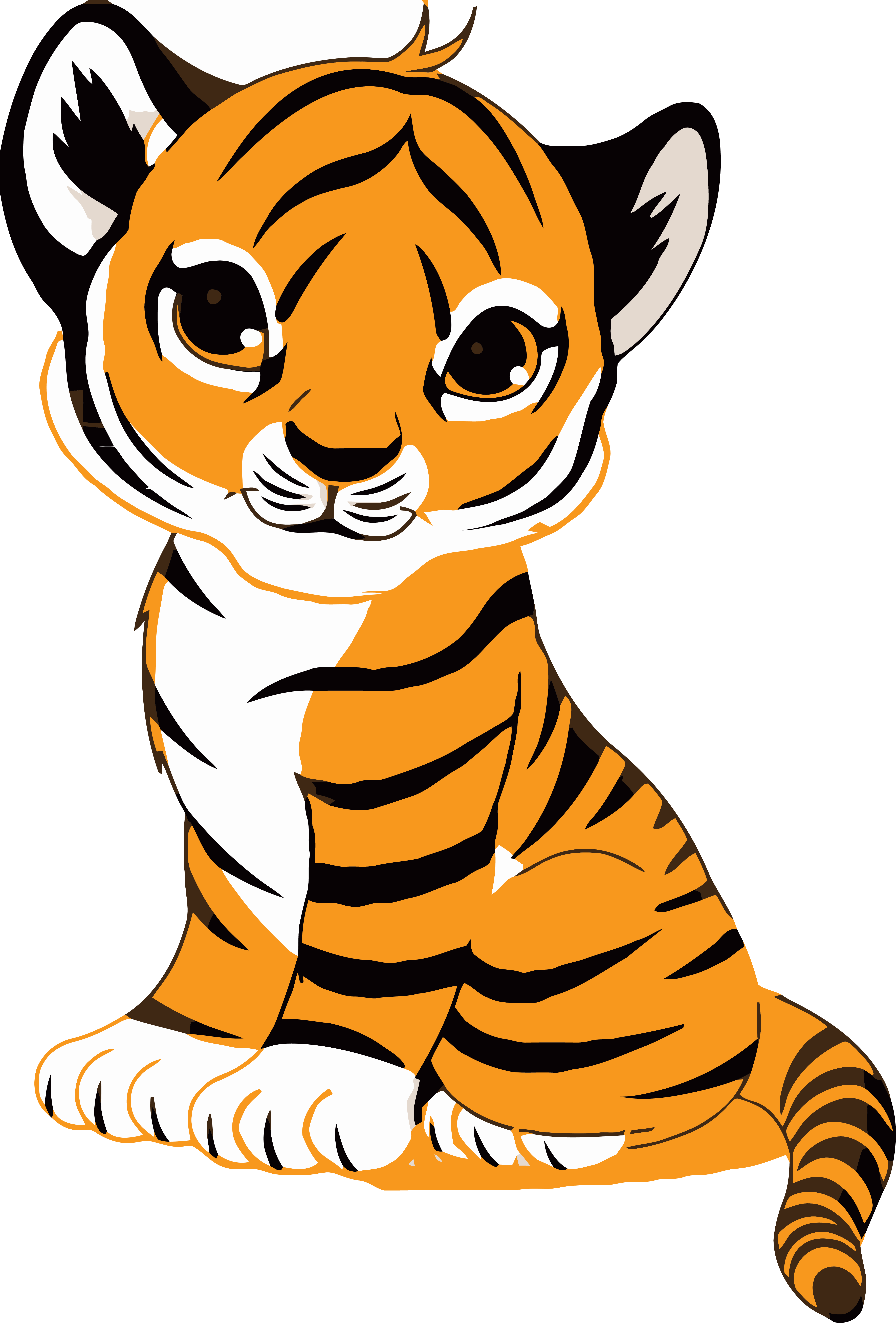 Tiger in a jeep clipart clip art library Tiger Face Clip Art Royalty Free Tiger Illustration Clipart ... clip art library