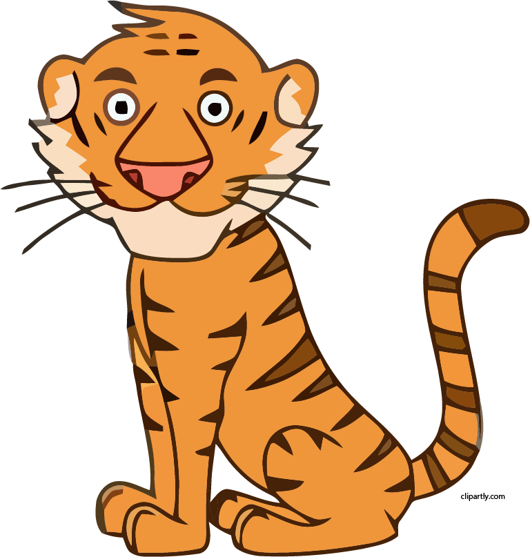 Tiger in a jeep clipart svg free Tiger Clipart – Clipartly.com svg free