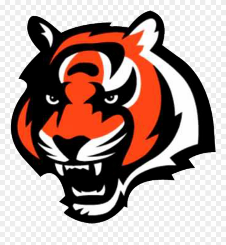 Tiger logo clipart image royalty free library Cincinnati Bengals Tiger Logo Clipart (#1525359) - PinClipart image royalty free library