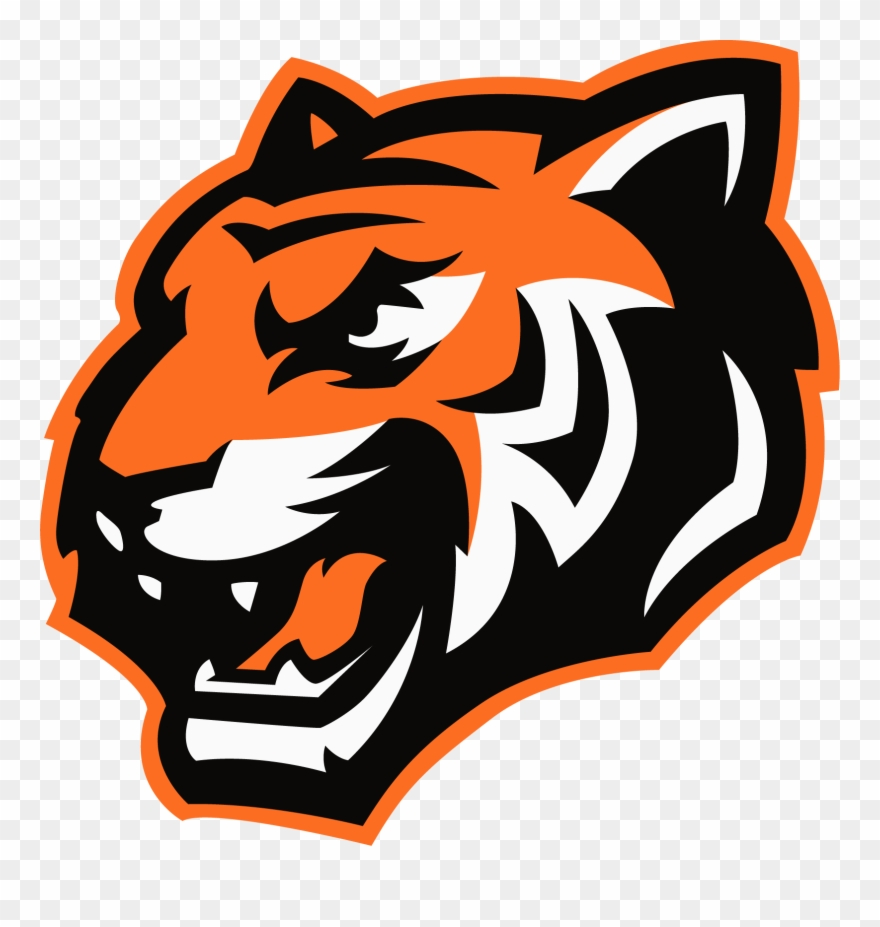 Tiger logo clipart royalty free library El Paso High School - Tiger Logo For Youtube Clipart ... royalty free library